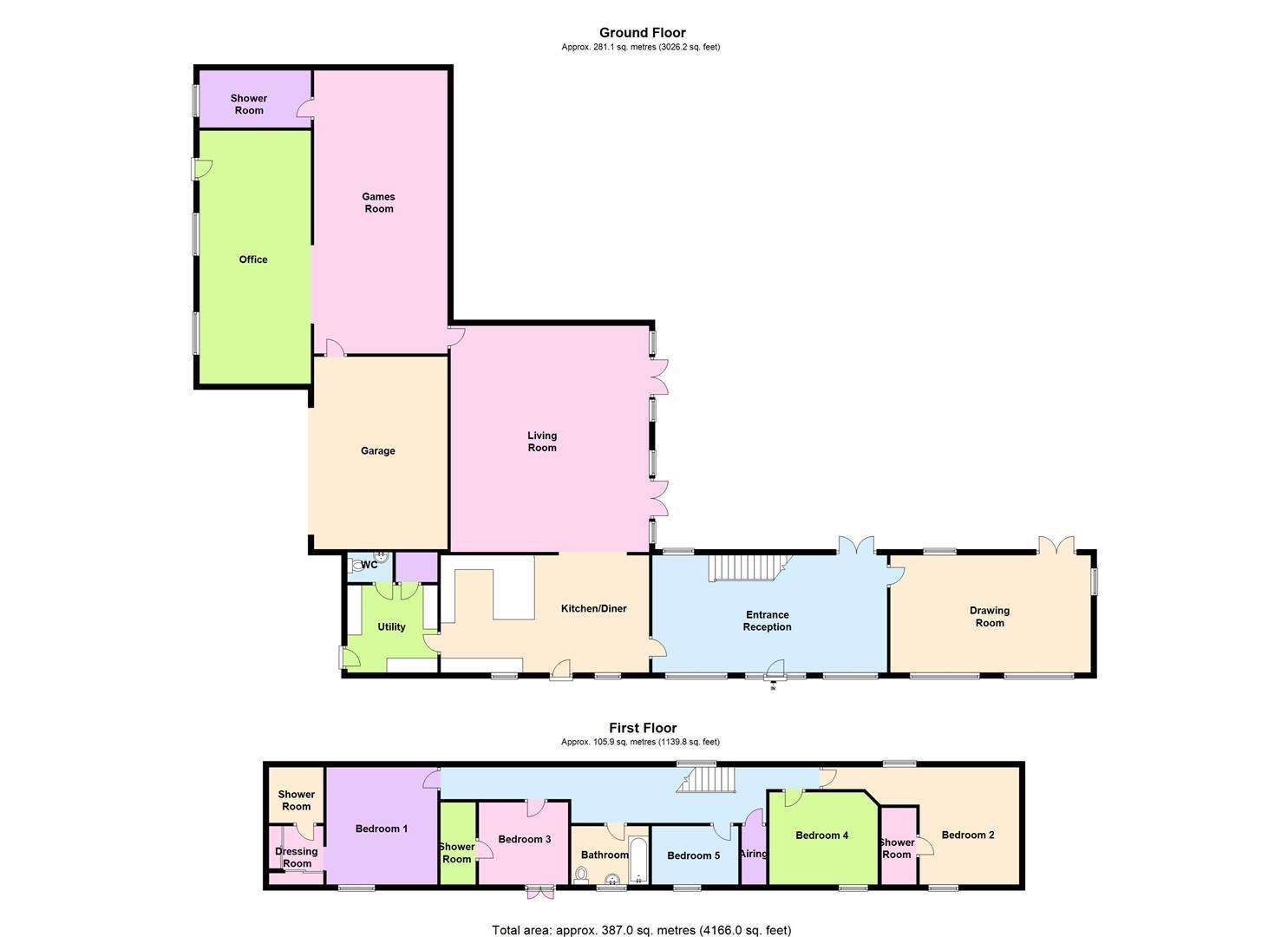 Floorplan for Bo architecture 4 1