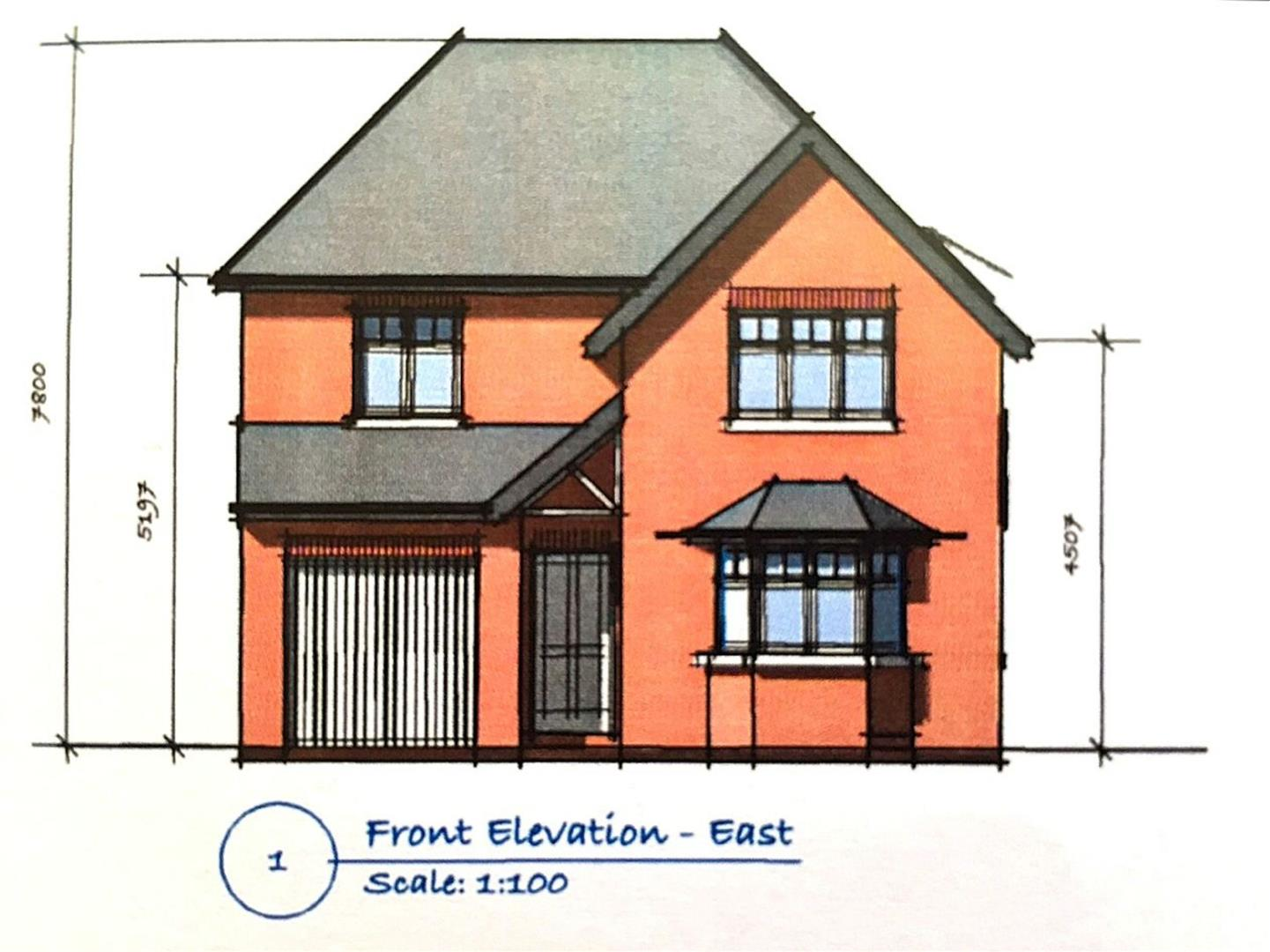 Developments house detached belmont avenue breaston for 10ft x 7ft garage door
