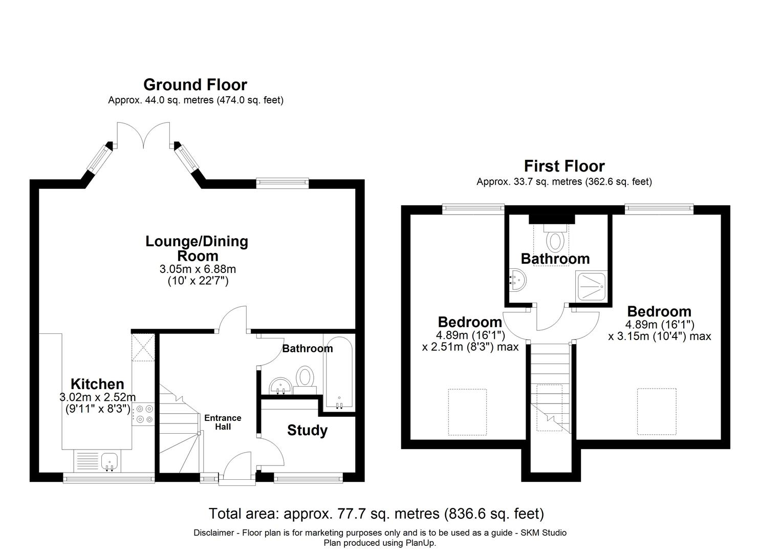 2-WEST-WING_-HOME-FARM_-NORTHCHURCH_- - floorplan.