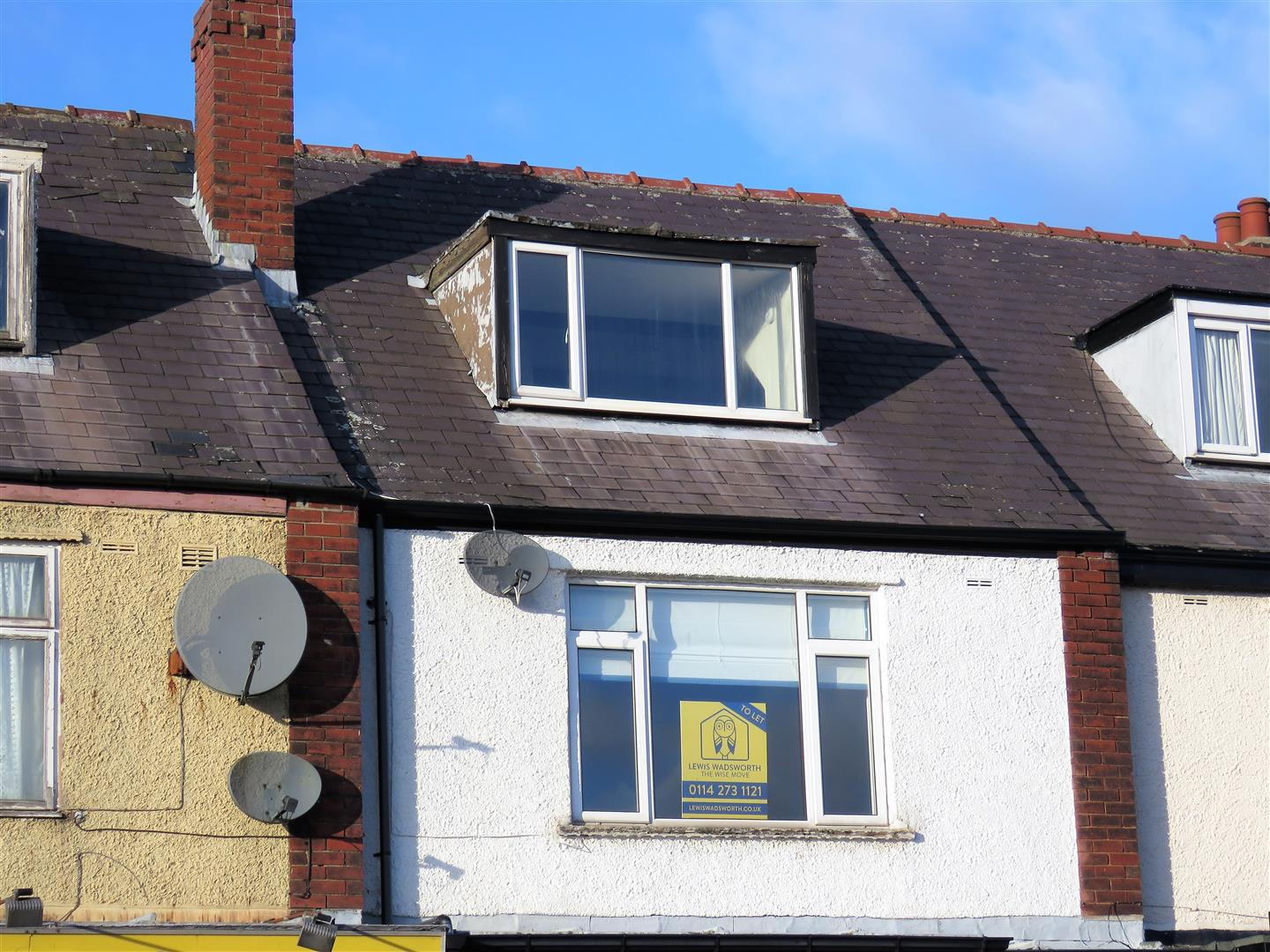 Flat Above 288 Ringinglow Road Bents Green Sheffield,