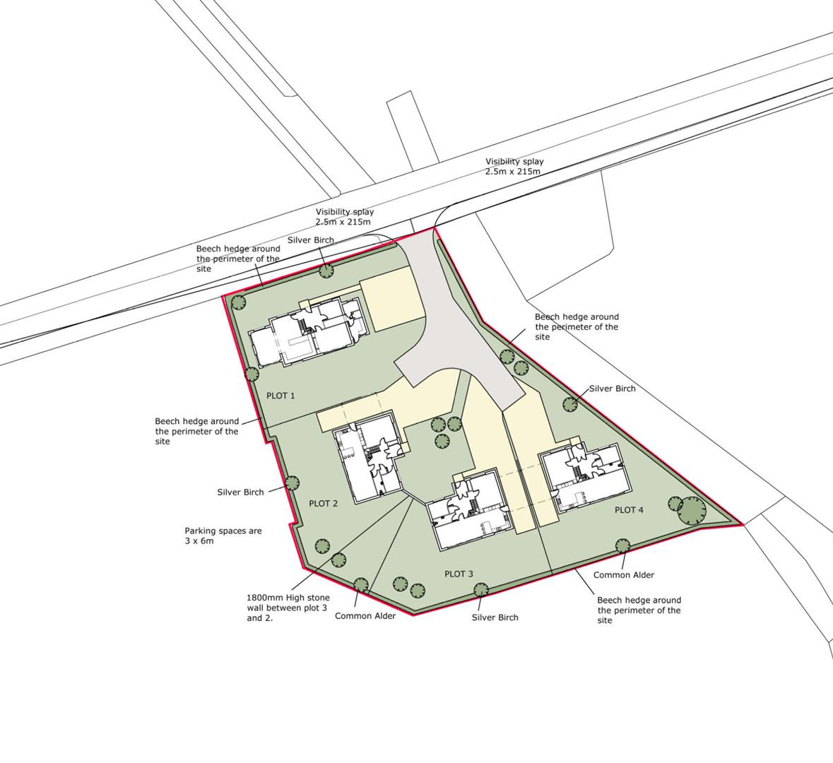 Corra Farm Site Plan