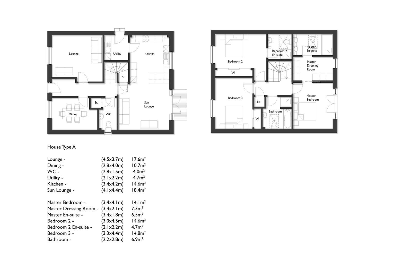 House Type A Floor Plan