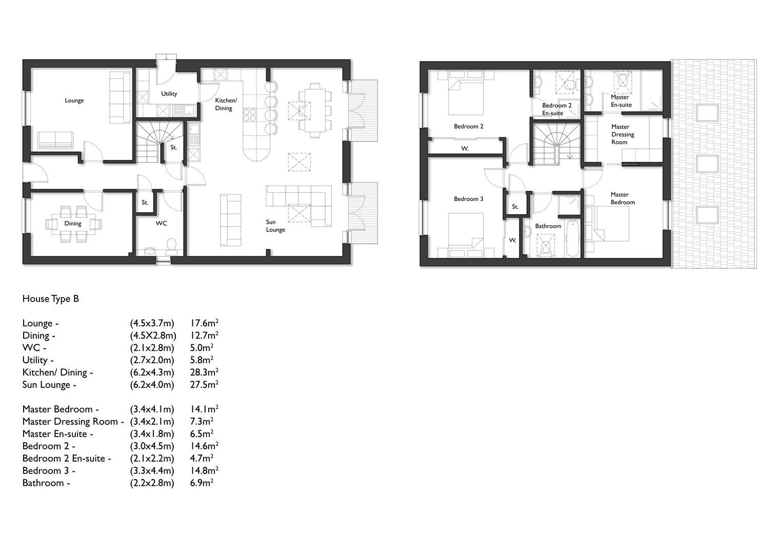 House Type B Floor Plan