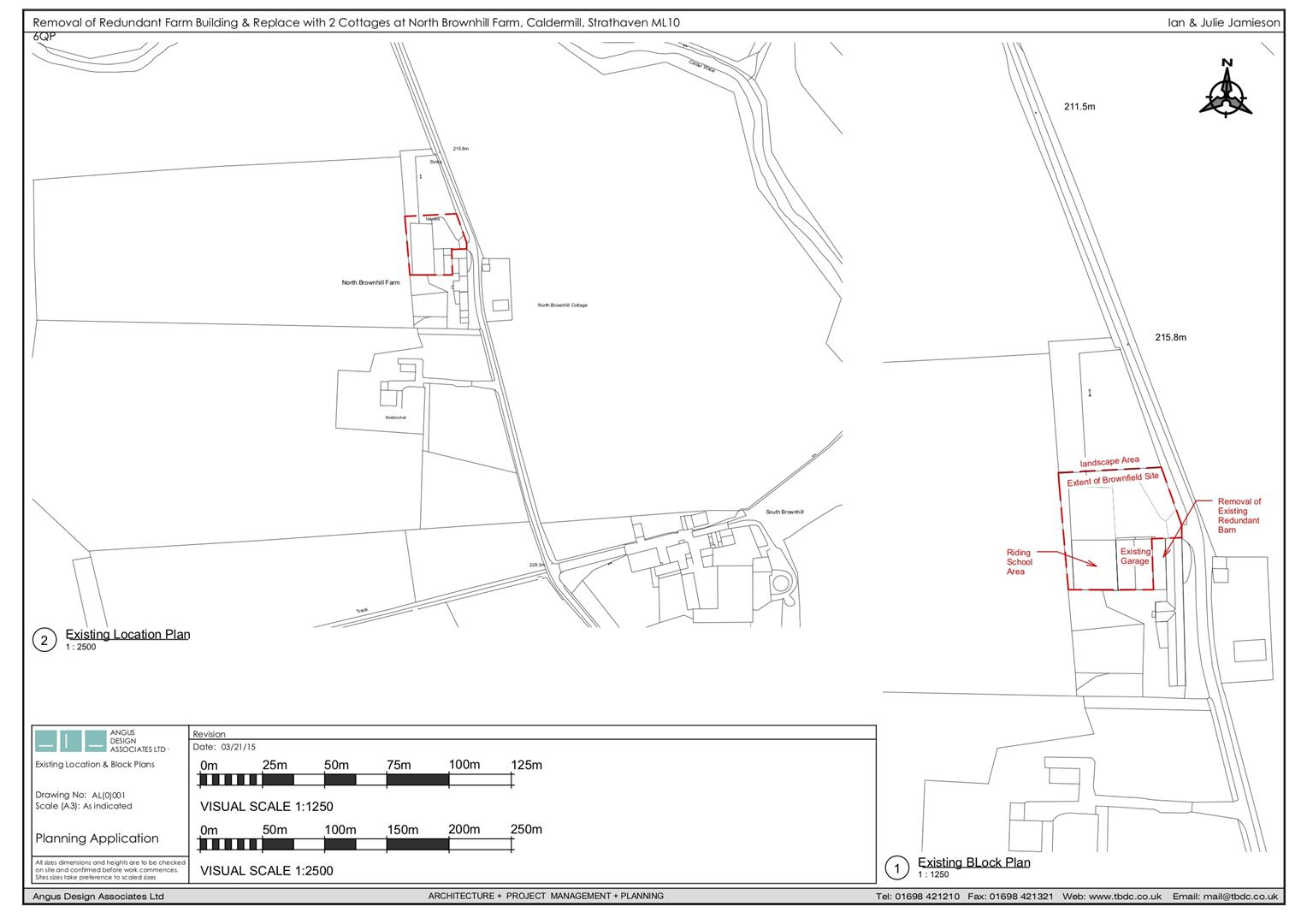 Existing Location Plan
