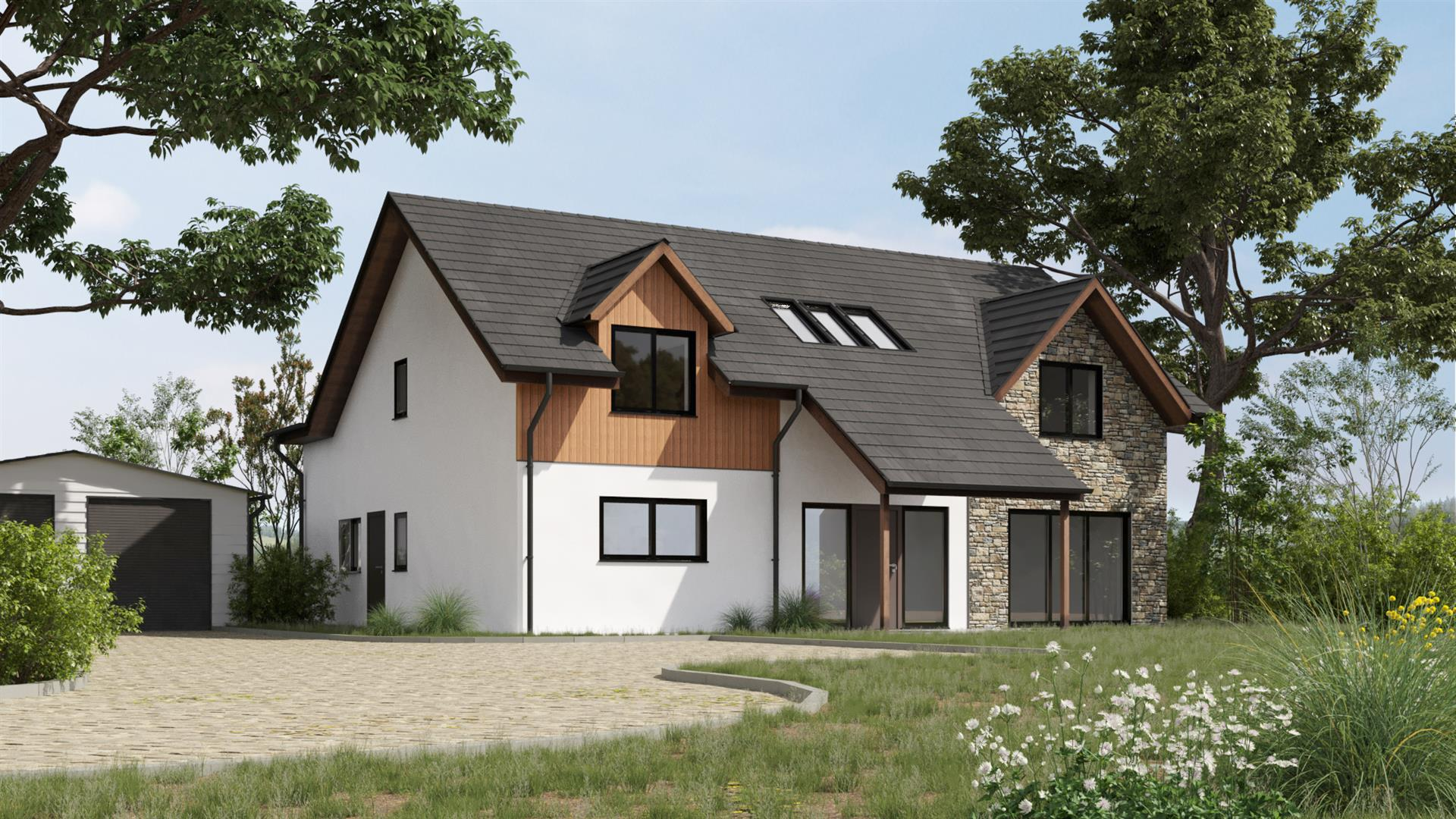 Plot 2, Laigh Brownmuir, Station Road, Glassford, Strathaven