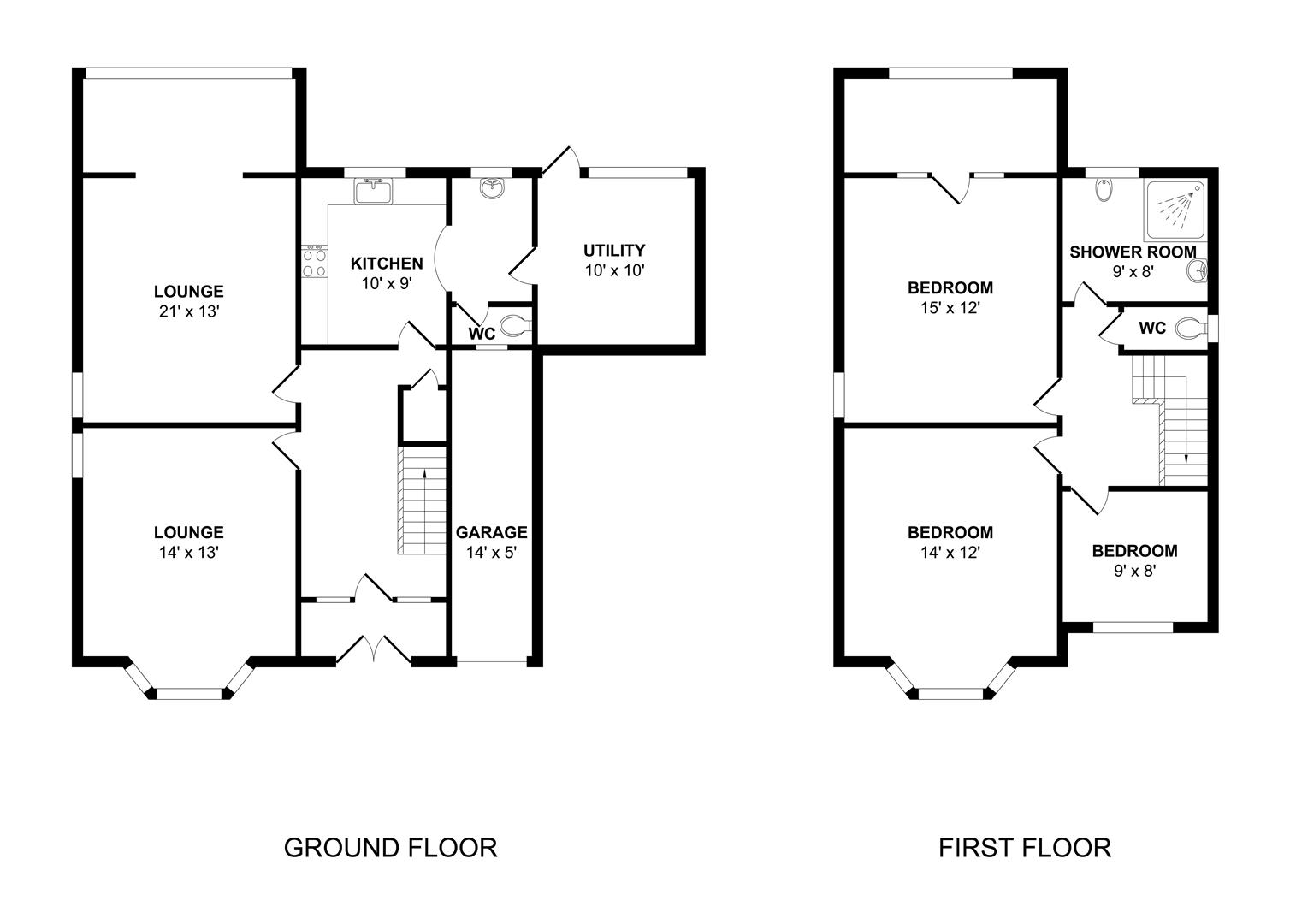 Floor plan 53 Porth y Castell.jpg