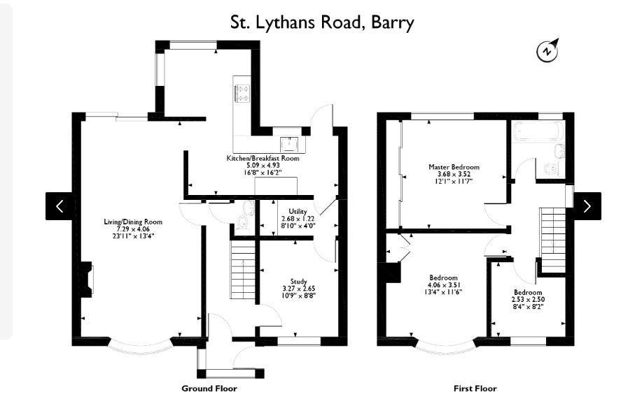 St Lythans Road Floorplan.JPG