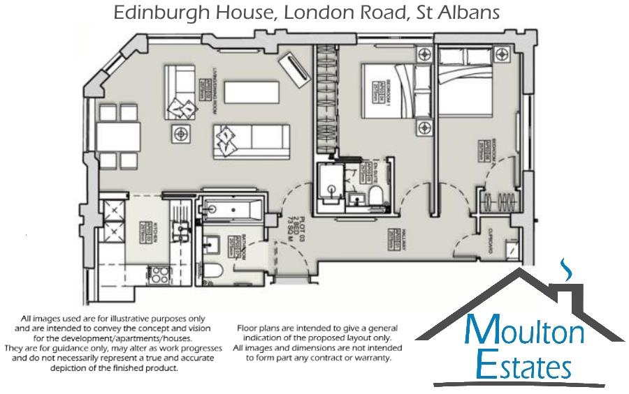 Floorplan - Edinburgh House 82 - 90 London Road -