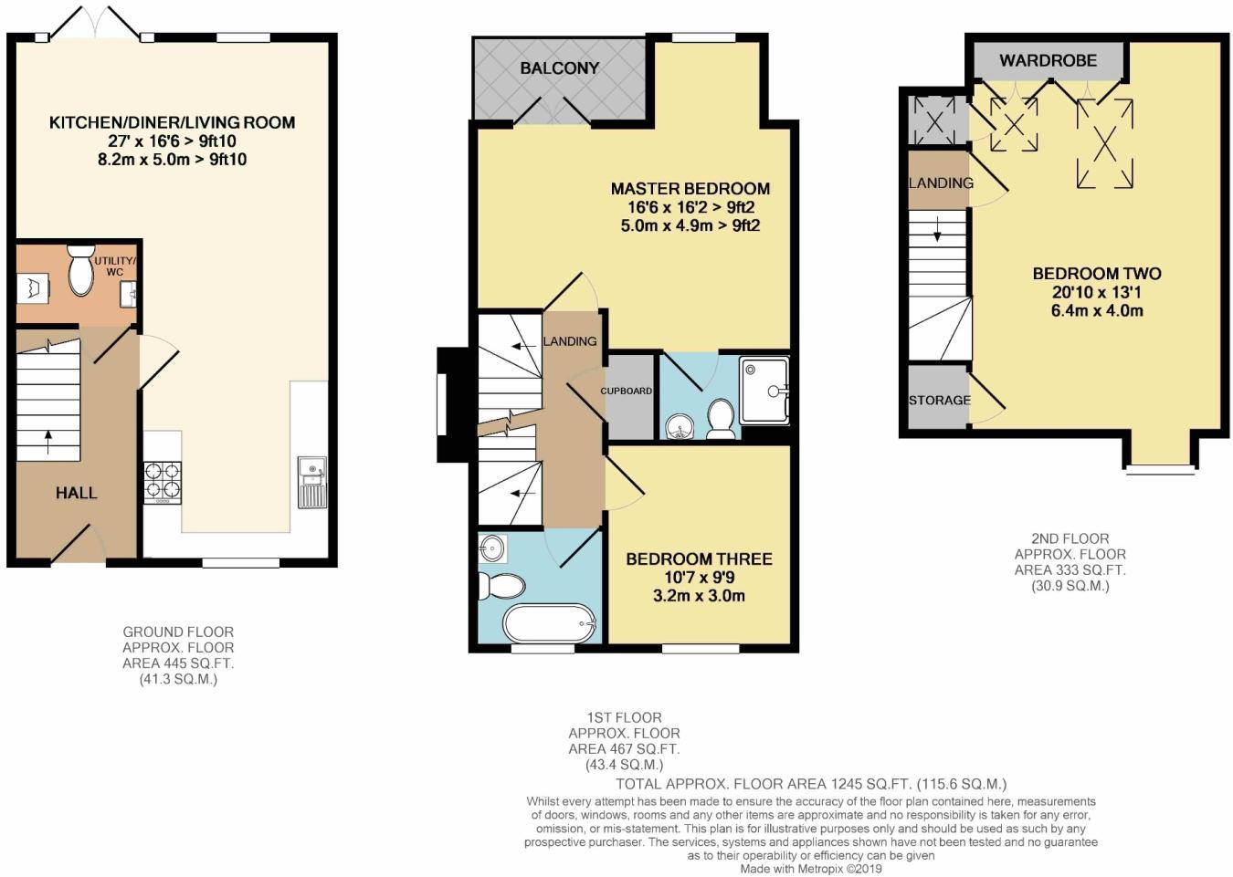 7 Young Mews Floorplan