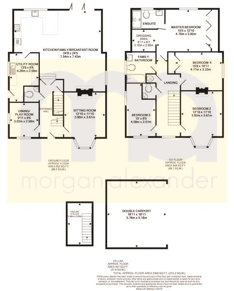 Green End Floorplan
