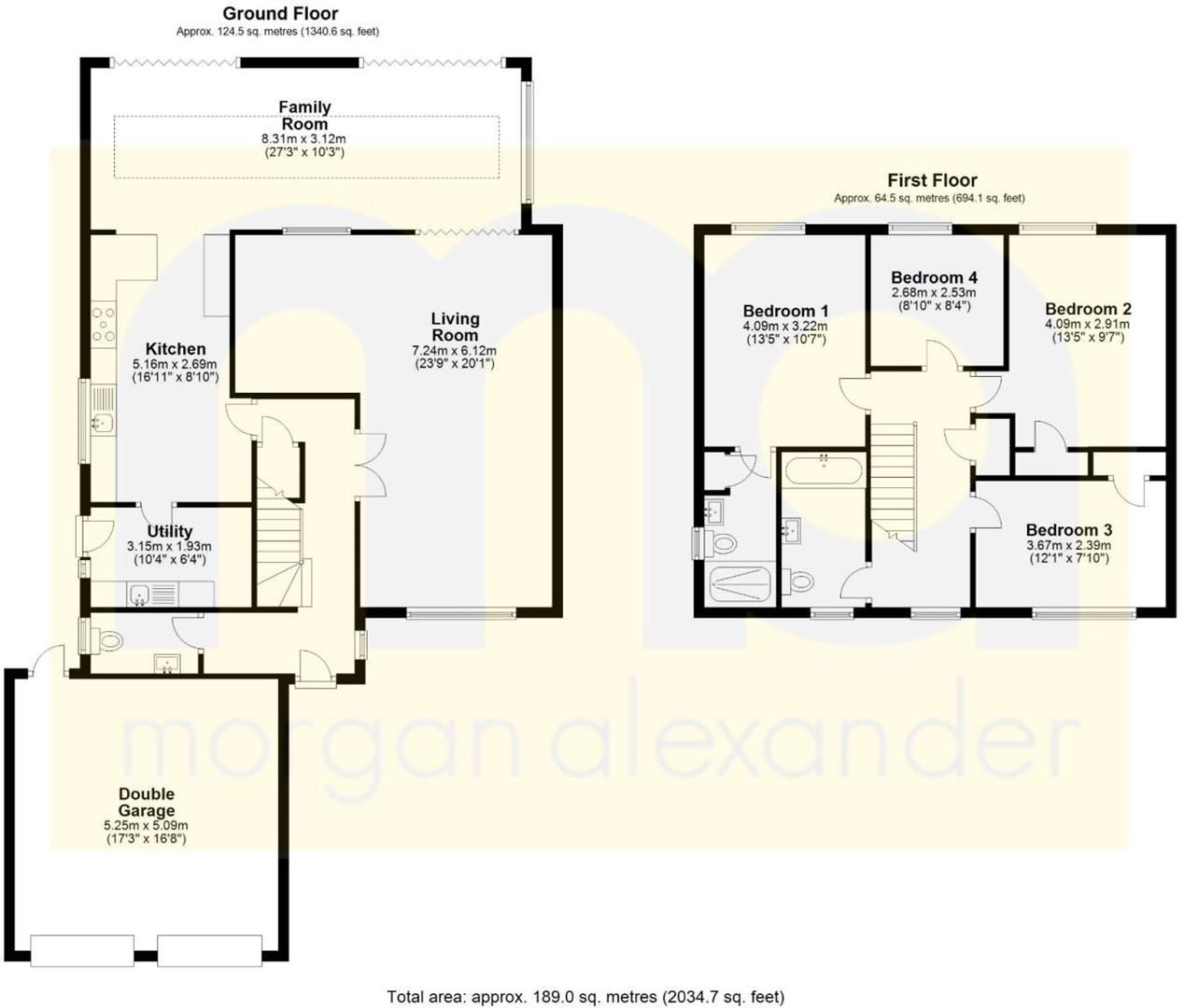 Rose Meadow Floorplan