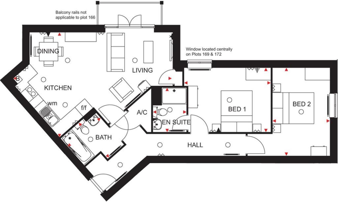 Hillside Court Floorplan