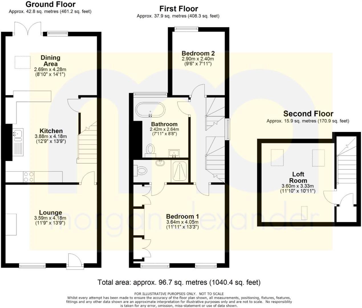 43 West Street Floorplan