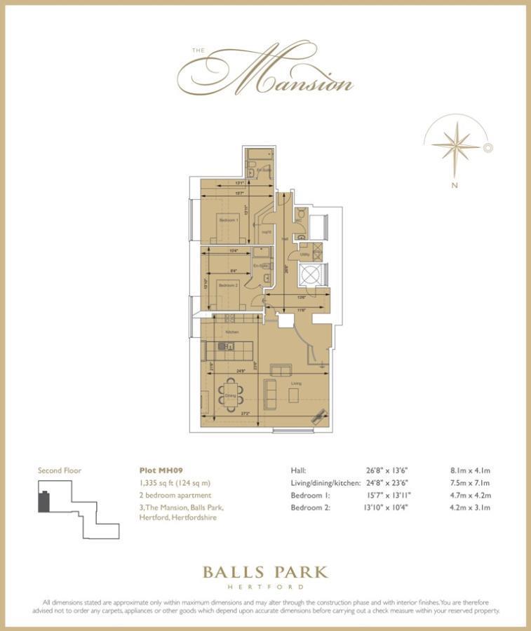 The Mansion floorplan